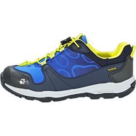 Jack Wolfskin Akka Texapore Low Shoes Boys vibrant blue